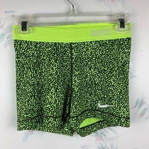 Nike Pro Multicolored Printed Compression Shorts